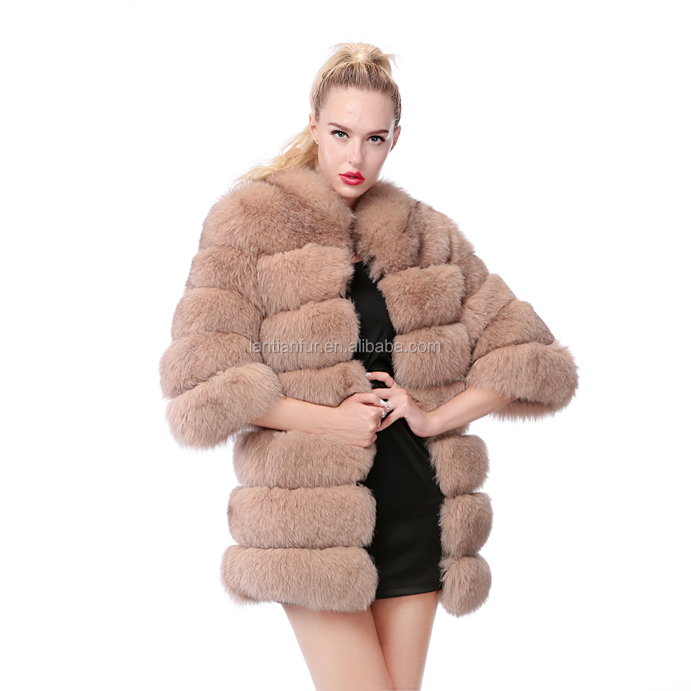 2017 Fur Popular And Fashion Quality Cheap Real Fox Fur Coats ...
