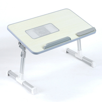 Height Adjustable & Portable Laptop Table Bed Tray Notebook Holder laptop desk