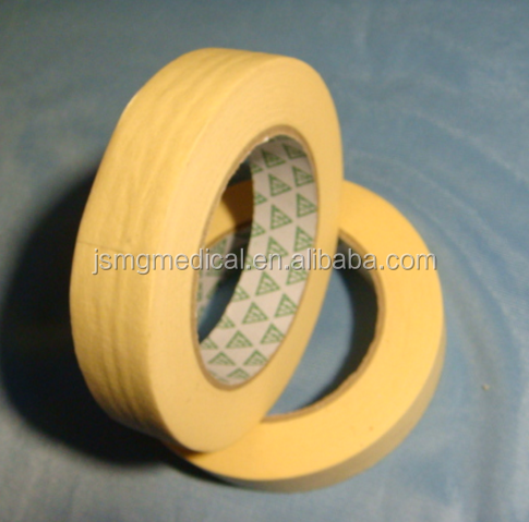High Quality Medical Autoclave Sterilization Masking Tape