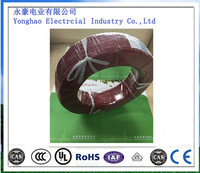 UL 1015 Electrical Cable 10~26AWG Copper Wire Conductor PVC Insulation wire