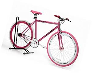 Caraci Fixed Gear Bike Aluminum Bicycle 53cm for Both Men and Women Fixie City Bike