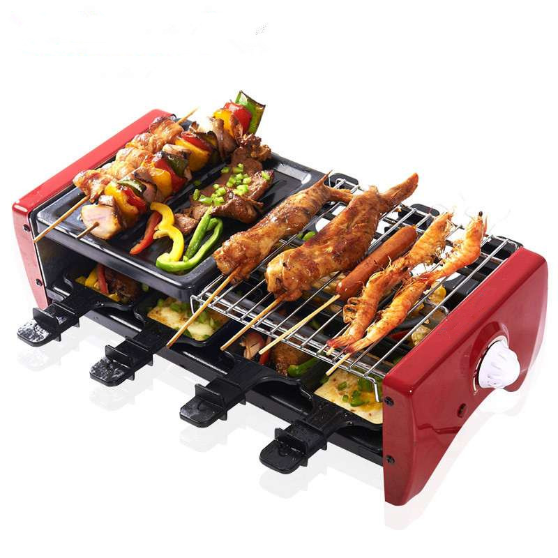 indoor barbecue grill home garden mini electric grill. Black Bedroom Furniture Sets. Home Design Ideas