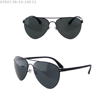 43897029ba 2018 new arrival metal custom logo high quality fashion pc polarized uv400  spring hinge sunglasses in