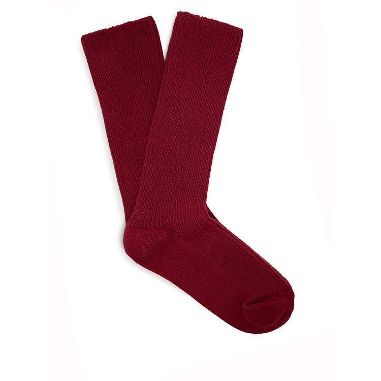 Uzun Nervürlü Moda Pamuklu Çorap