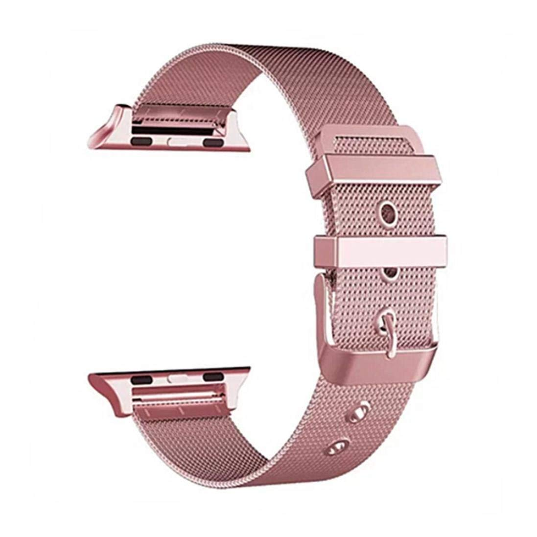 Stainless Steel straps,RTYou(TM) Durable Milanese Loop Stainless Steel Buckle Watch Strap Band For Apple Watch 38mm