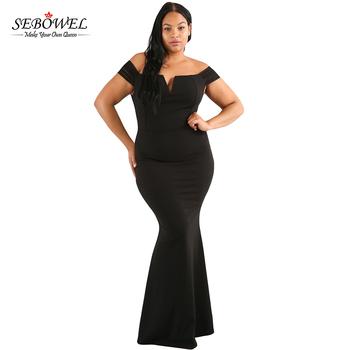 2017 New Arrival Mature Women Sheer Sleeve Plus Size Evening Dress ...