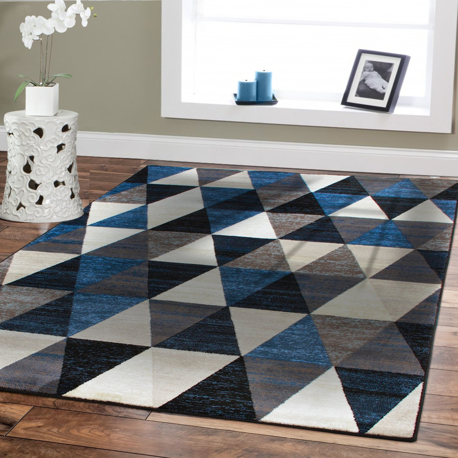 Fabulous Cheap Brown And Blue Rugs Find Brown And Blue Rugs Deals On Download Free Architecture Designs Intelgarnamadebymaigaardcom