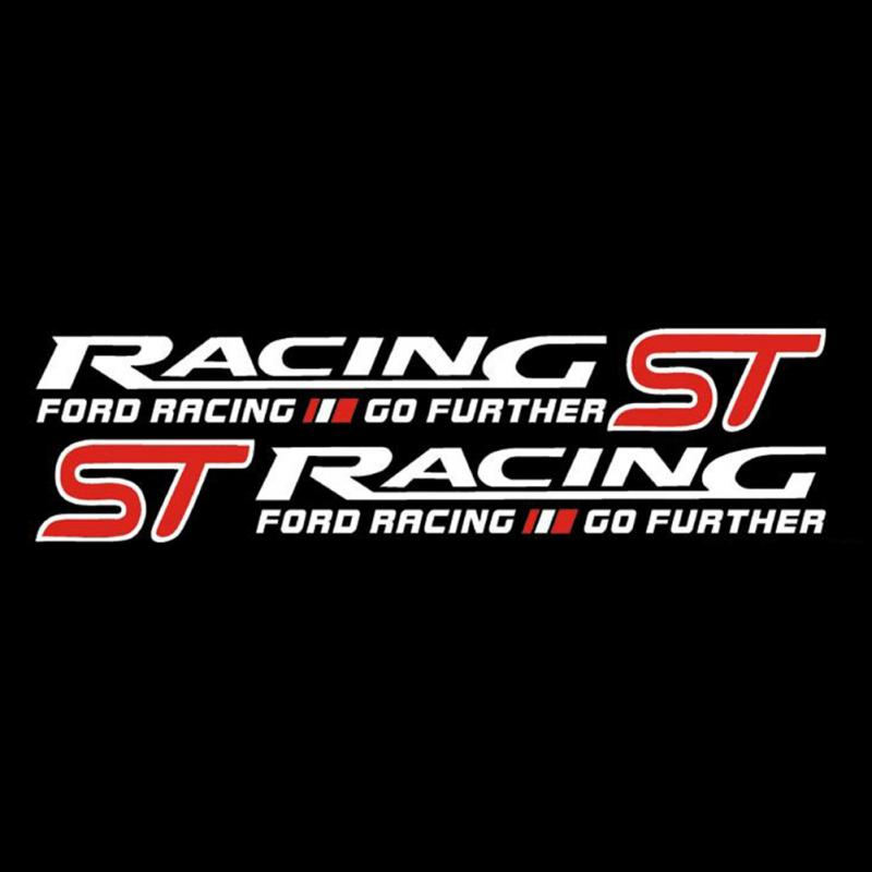Fiesta St For Sale >> 2019 3D ST RACING Sticker For Ford Focus Focus 2 3 ...