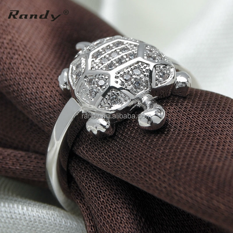 Animal Turtle Engagement Ring Product On Alibaba