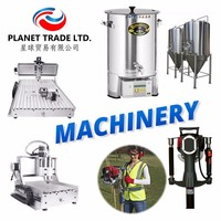 Machinery industrial Cutting Machine - Post Pile Driver - Beer Brewery equipment