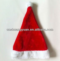 Cheap cute decoration father christmas hat,Christmas cap