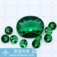 synthetic glass gemstone crystal bead