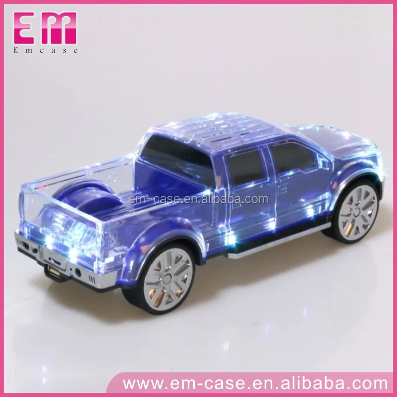 Your Children's Christmas Gift! 399BT Car Model With LED Light Perfect Sound Bluetooth Speaker