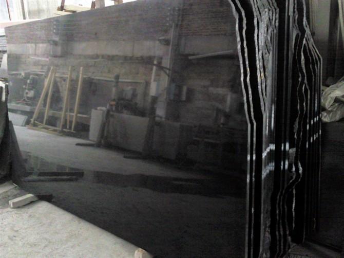 Cantera directa china precio losas de granito negro for Precio metro granito