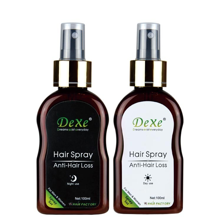 wholesale hair loss products of Dexe anti hair loss spray with effective hair growth liquid