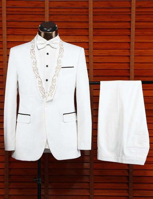 2016 coat pant designs milk white wedding suit for men 2015, View ...