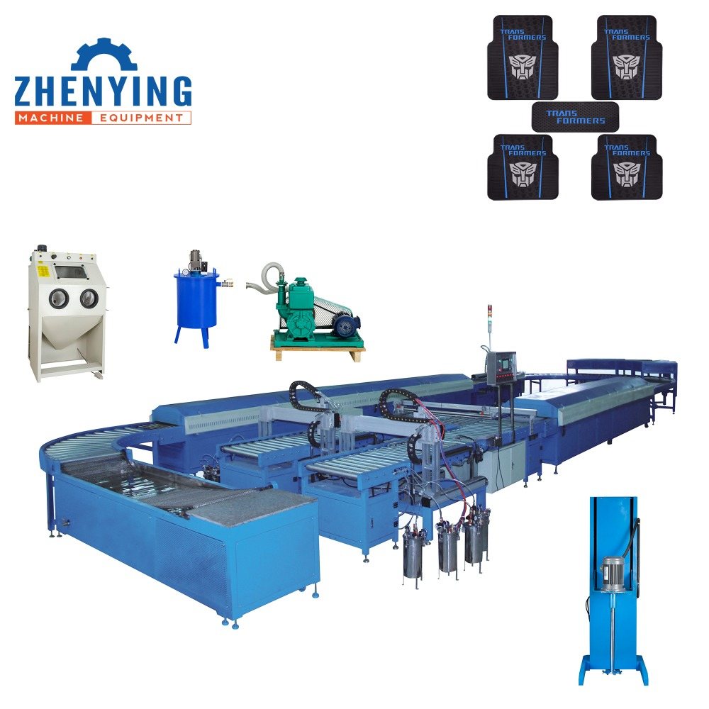 Nontoxic Smelless Home Series PVC car Mat Machine Production <strong>Line</strong>