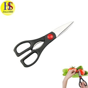Black Color Stainless Steel Kitchen Scissor