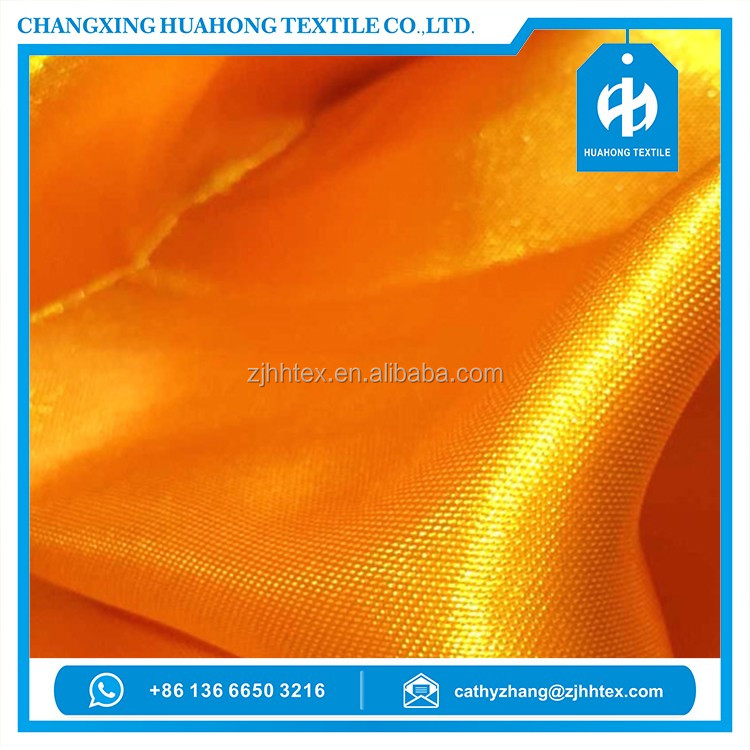 Poly satin drapery transparent fabric strong for home textile