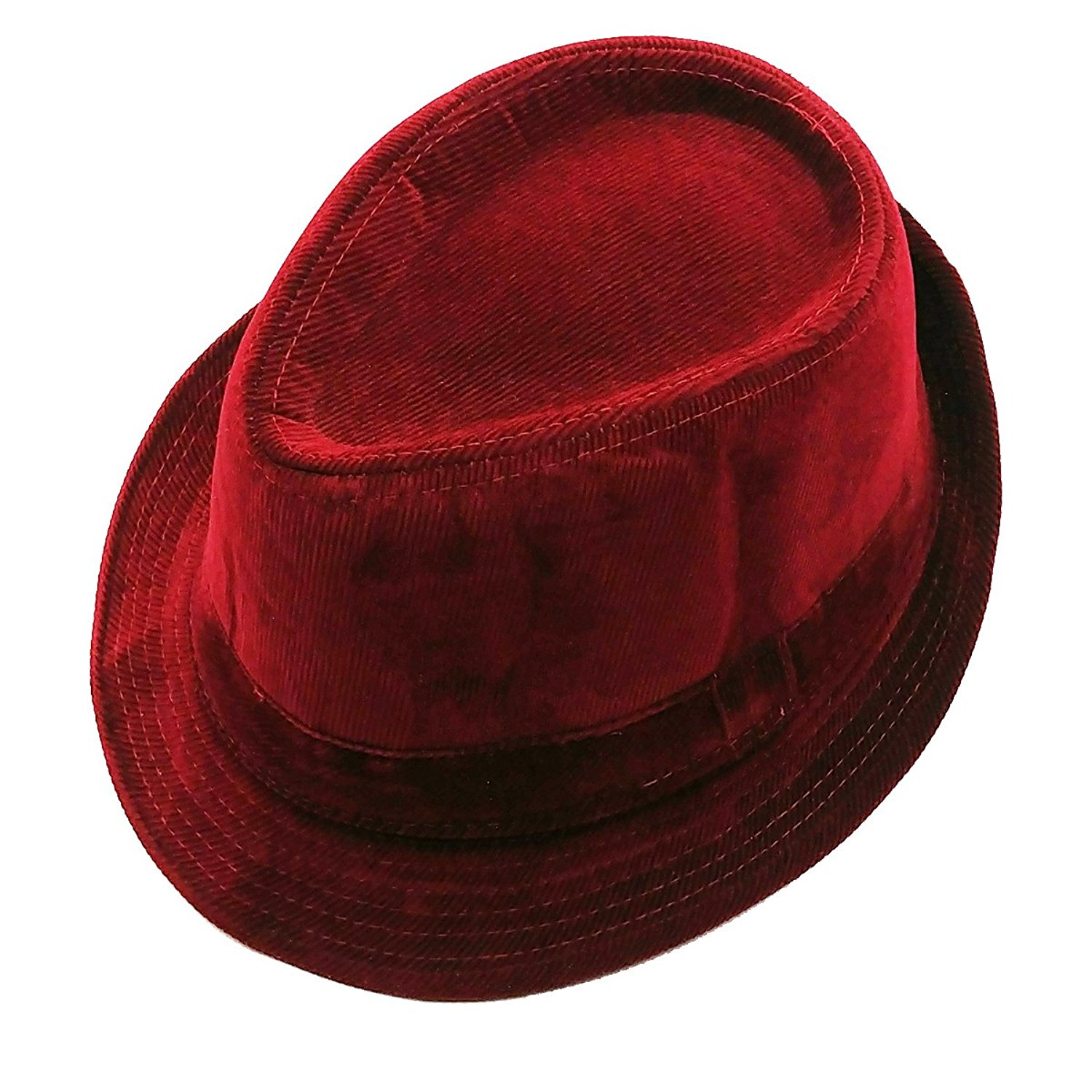 dd062fa1198035 Get Quotations · List A Mens Velvet Fedora Hat Selections - Stylish Smooth  Trilby Panama Hats