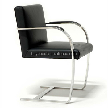 Genial Leather Ludwig Mies Van Der Rohe Brno Chair