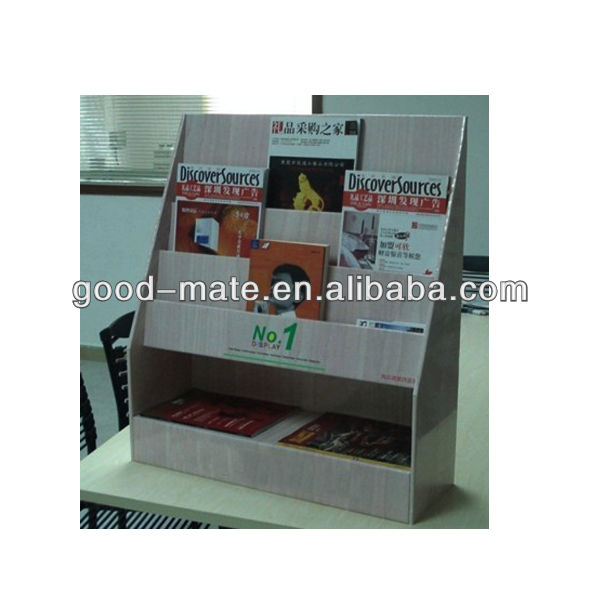 Paper Book Display Case, Folding Book Display Stand
