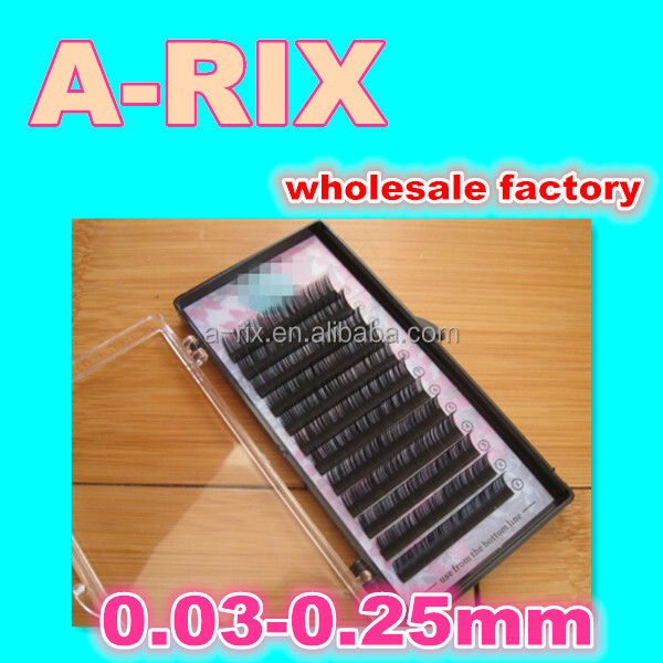65 dropship mink fur yarn eyelash extension 0.03 new product 2015