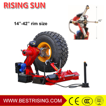 Truck repair used tyre dismantling machine