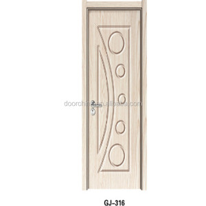 cheap stock PVC door