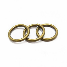 High Quality 8mm Small Metal Round Ring For Bags