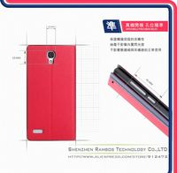 Stand Wallet Leather Case Flip Cover Mobile Phone Bags & Cases for Xiaomi mi3 for Red Rice with Business Card Holder