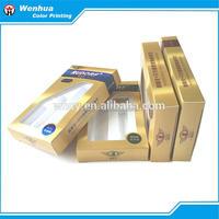 Korean Style Paper Cosmetic Set Box Flip Lid 12 Colors Flip Lid Eye Shadow Box