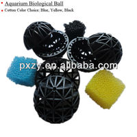 Bio Ball Filter Applied In Fish Pond,Plastic Bio Ball Filter ...