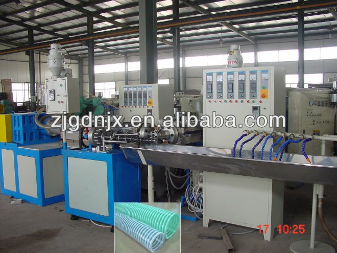 Quality Assurance 13- 64mm PVC spiral pipe making machine with Long Service Life