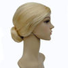MPW-0446 halloween carnival party blonde old lady wig, grandma wig