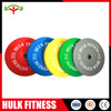 Hotest Colored Solid Rubber Bumper Plate for Weight Lifting Training