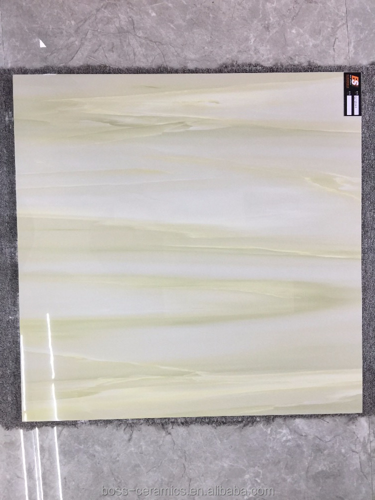 Cheap price First choice 800X800mm Green Porcelain 3D ink jet bathroom Wall Tiles