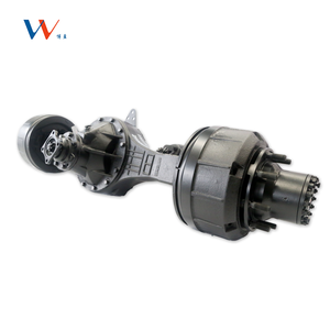 Agricultural Electric vehicle electric driving rear axle