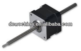 non-captive linear stepper motor micro linear nema 17 stepper motor