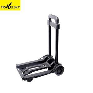 1383001Promotion compact foldable lightweight small luggage trolley cart