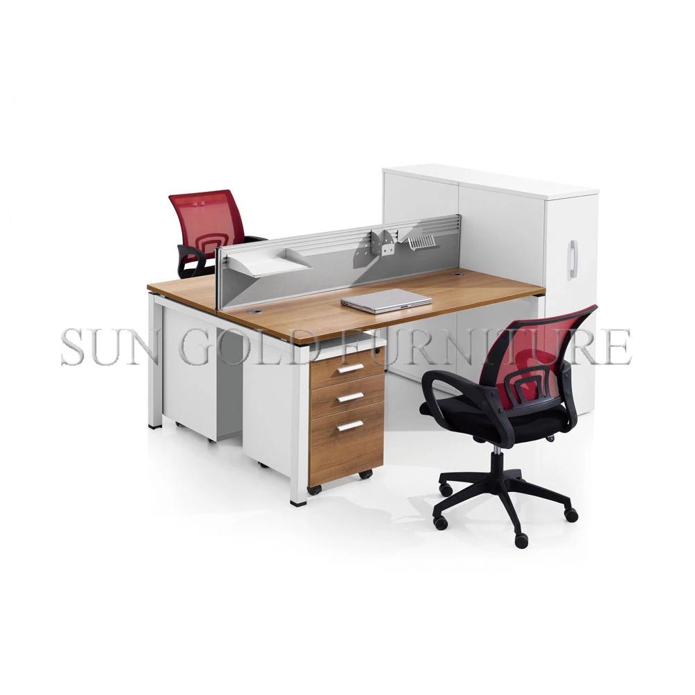 - Office Furniture Double Desk Workstation Computer Desk Workstation