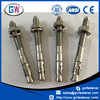 304 316 Stainless Steel Concrete Through Bolt Anchors