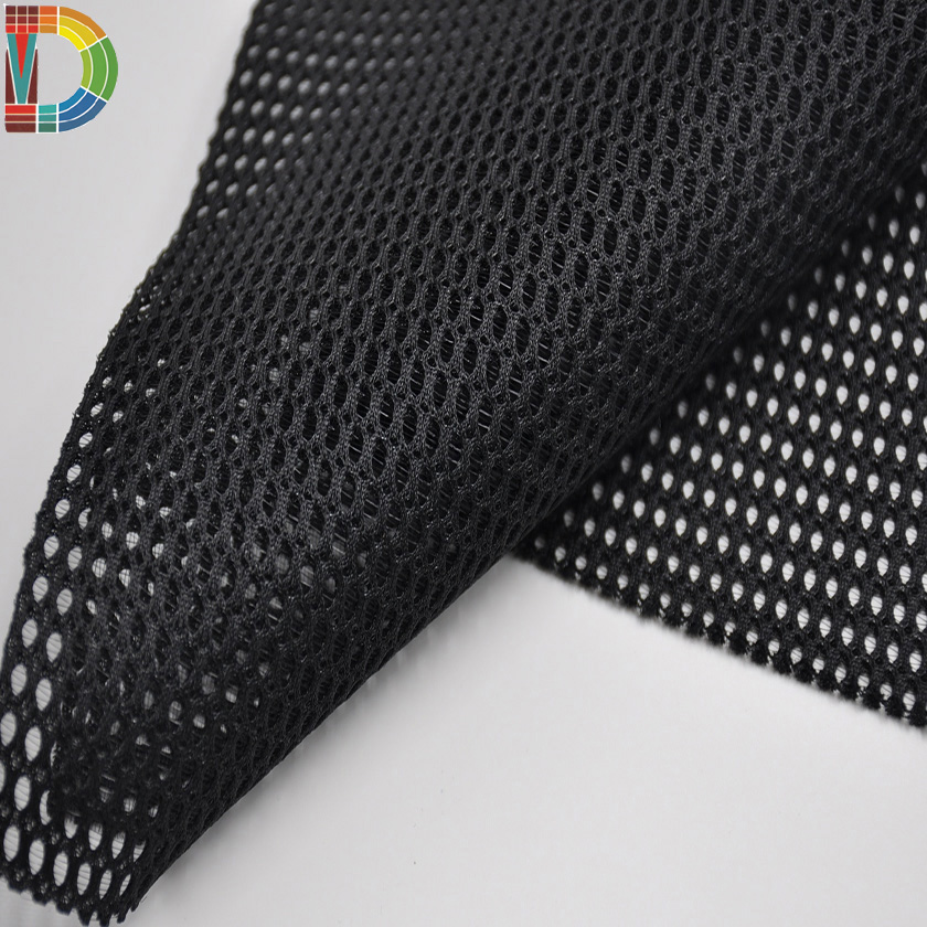 Sport  Shoes Polyester Knitted 3d spacer air mesh fabric