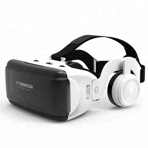 3d vr glasses virtual reality gear goggles 3D goggle cardboard VR 3D glasses shinecon VR glasses