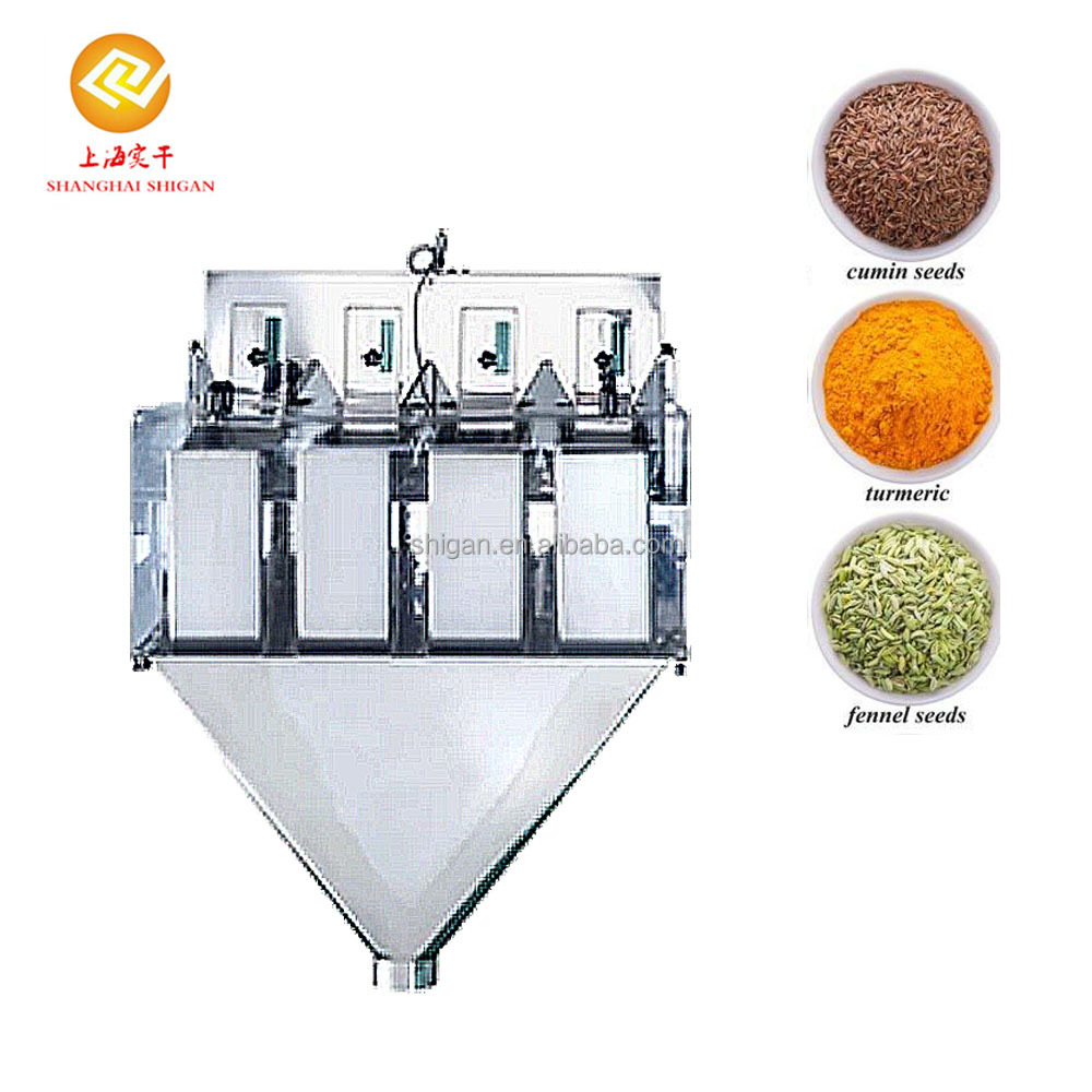 Manufacturer price vertical small automatic weight packing machine