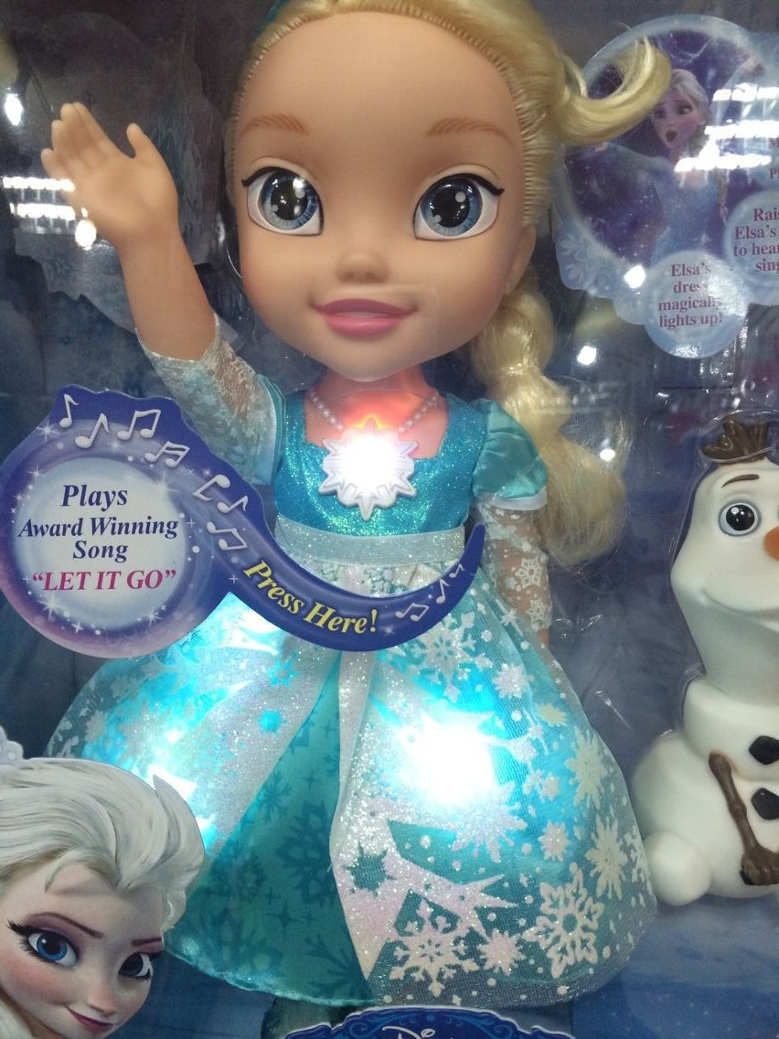Hot Sale Frozen Movie Doll Elsa Princess Singing Toy For