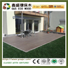 High quality pvc exterior composite decking Water Resistance wooden anti-slip flooring