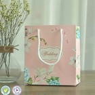 Custom wholesale wedding candy packaging bag,beauty paper gift packing bags