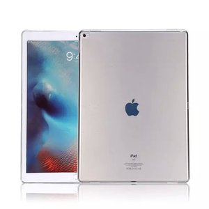 Clear Case for Apple iPad Pro 12.9 Inch Premium Soft Skin Flexible Bumper Transparent TPU Gel Rubber Back Cover Protector