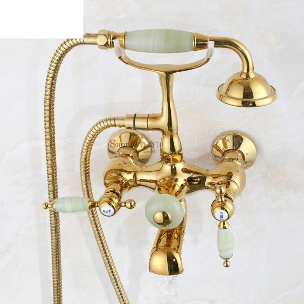 wall-mounted European style shower/bathroom bathtub faucets/Antique shower freestanding bathtub shower-E